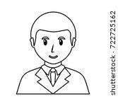 young man  avatar vector... | Shutterstock .eps vector #722725162