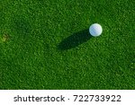 Golf Club And Ball On The Gree...