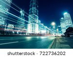 beautiful night view of... | Shutterstock . vector #722736202