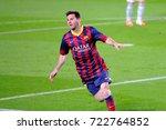 barcelona   mar 26  lionel... | Shutterstock . vector #722764852