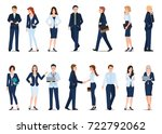group of business man and... | Shutterstock .eps vector #722792062