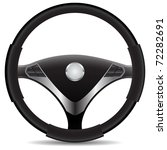 steering wheel | Shutterstock .eps vector #72282691