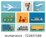 vector illustration of the nine ... | Shutterstock .eps vector #722837188