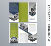 brochure design  brochure... | Shutterstock .eps vector #722847775