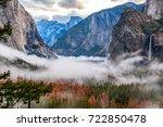Yosemite National Park Valley...