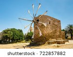Old Stone Windmill Near The...