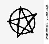 Pentagram Vector Icon Isolated...