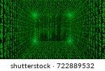 Binary Code Background Abstrac...