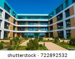 luxury apartment by the sea | Shutterstock . vector #722892532