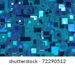 abstract generated colorful... | Shutterstock . vector #72290512