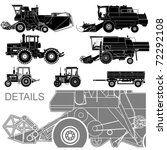 Vector Agricultural Vehicles...