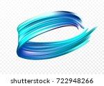 color brushstroke oil or... | Shutterstock .eps vector #722948266