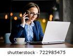 business woman | Shutterstock . vector #722985475