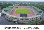 darulaman stadium   june 2017   ... | Shutterstock . vector #722988082