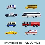vehicle transportation   modern ... | Shutterstock . vector #723007426