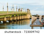 View Of The Bridge Of Lions An...