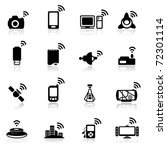 icon set  connection | Shutterstock .eps vector #72301114