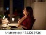 education  freelance  overwork... | Shutterstock . vector #723013936