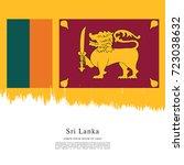 flag of sri lanka | Shutterstock .eps vector #723038632