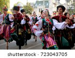 russia  krasnodar 23.09.17... | Shutterstock . vector #723043705
