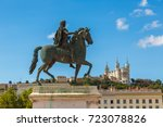 Statue Of Louis Xiv In Lyon ...