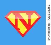 logo super hero | Shutterstock .eps vector #723128362