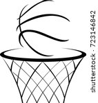 Hand Drawn Basketball Icon