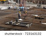 Construction Site  Workers...