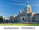 Small photo of Victoria, British Columbia, Canada - 11 September 2017: British Columbia Parliament Buildings. The Parliament is home to the Legislative Assembly of British Columbia.
