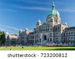 victoria  british columbia ... | Shutterstock . vector #723200812