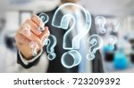 businessman on blurred...   Shutterstock . vector #723209392