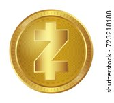 cryptocurrency  zcash | Shutterstock .eps vector #723218188