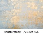 white and golden messy wall... | Shutterstock . vector #723225766