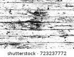 grunge wood overlay texture.... | Shutterstock .eps vector #723237772