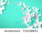 abstract background created... | Shutterstock .eps vector #723238852