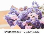Statice Flower Bouquet  As A...