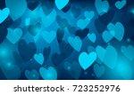 vector  blue background with... | Shutterstock .eps vector #723252976
