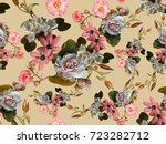 flowers | Shutterstock . vector #723282712