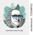 Hipster Classical Sculpture....