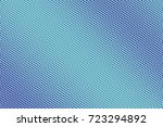 blue and cyan abstract halftone ... | Shutterstock .eps vector #723294892