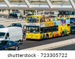 lisbon  portugal   august 10 ... | Shutterstock . vector #723305722