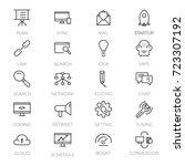 web development icons set ...