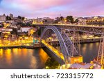 panoramic aerial view of dom... | Shutterstock . vector #723315772