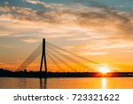 Riga  Latvia. Scenic View Of...