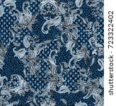 amazing paisley pattern | Shutterstock . vector #723322402