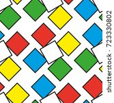Colorful Squares As Seamless...