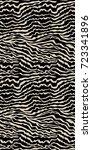 seamless animal print vector... | Shutterstock .eps vector #723341896