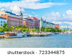 View Of A Marina In The...