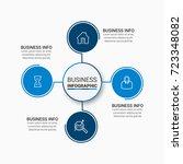 data infographics design | Shutterstock .eps vector #723348082