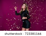 happy new year to you  one... | Shutterstock . vector #723381166